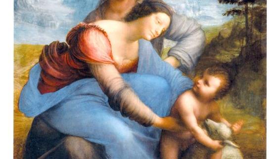 A Virgem e Menino com Santa Ana- Leonardo da Vinci