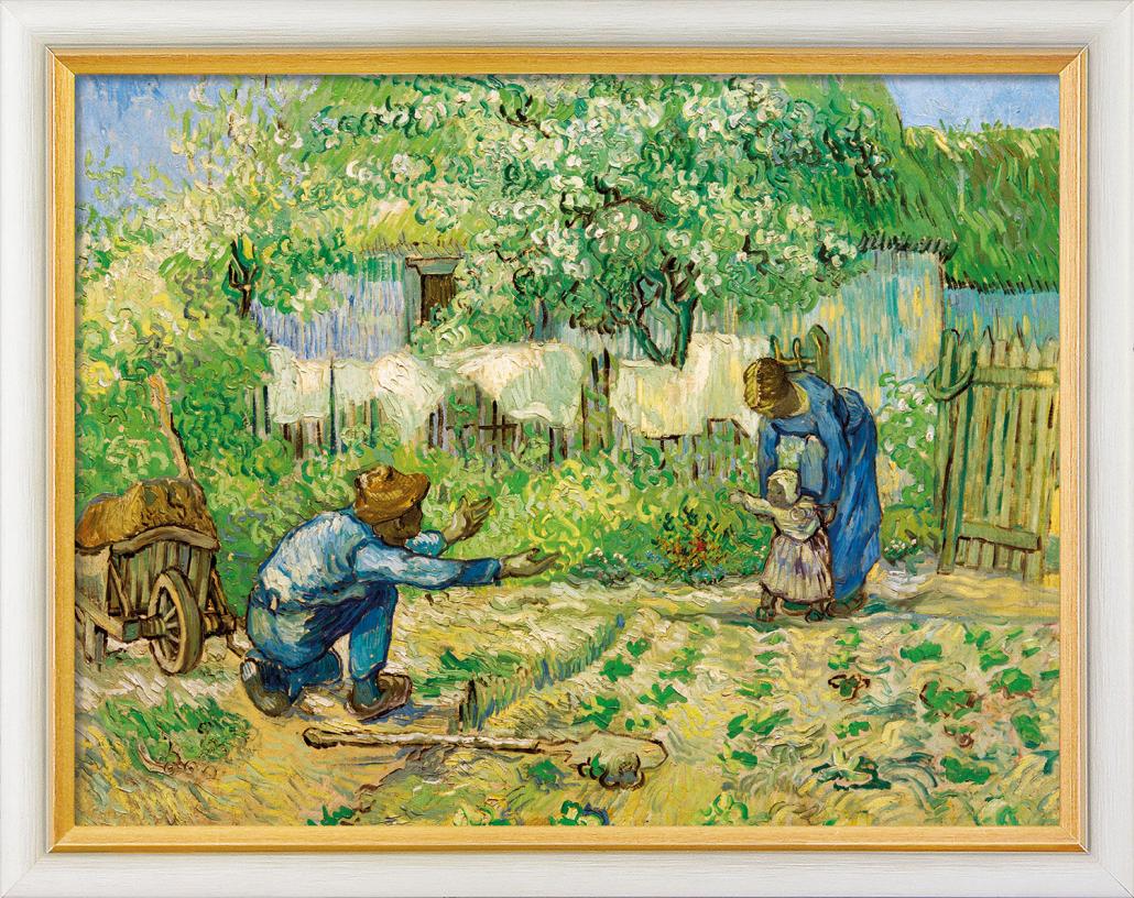 os primeiros passos ( Van Gogh)
